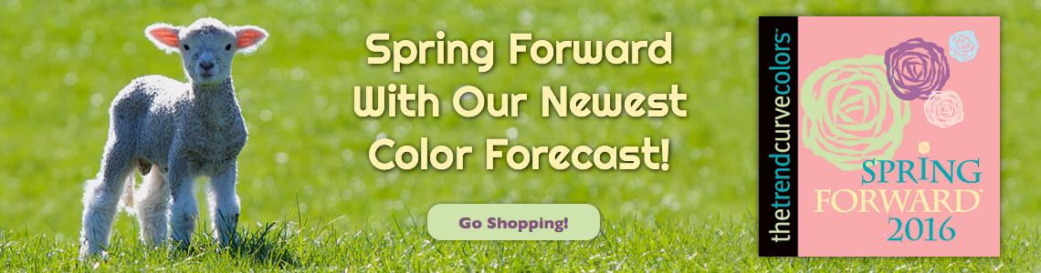 Spring Forward™ Color Forecast for 2016
