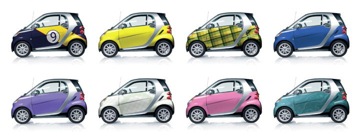 A Handful Of Colors And Design From Smart Usa S New Expressions Offering