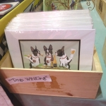 Sara England's giclée-quality prints, coasters and memo boards