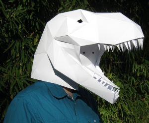 T-Rex Mask from Tetra Variations