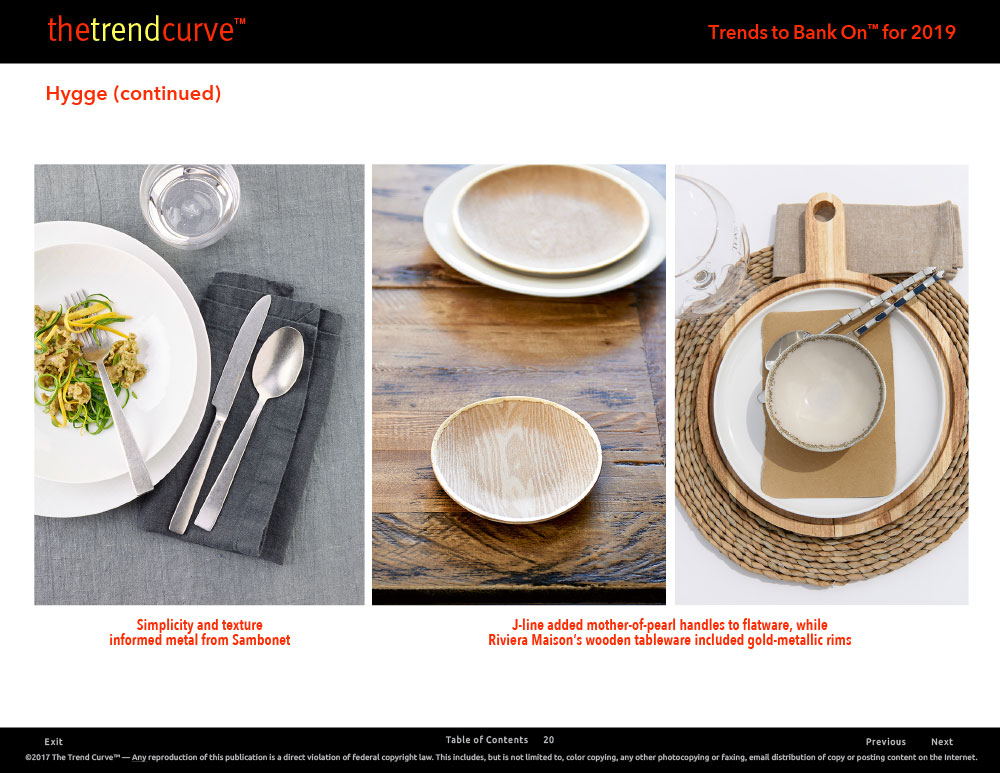 Trend Store Menu  sc 1 st  The Trend Curve & Trends to Bank On™ for 2019 - The Trend Curve™
